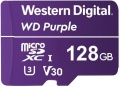 WD Micro SDXC Purple 128GB 100 MB/s UHS-I U3