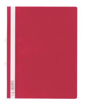 Závěsné desky Durable  s rychlovazačem A4, červená