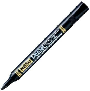 Popisovač permanentní Pentel N850 - 4,2 mm, černá