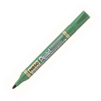 Popisovač permanentní Pentel N850 - 4,2 mm, zelená
