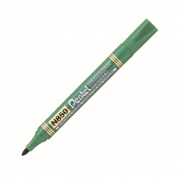 Popisovač permanentní Pentel N850 - 4,2 mm, zelený