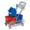 Úklidový vozík - 2 kýble, ždímač mopu