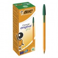 Kuličkové pero BIC Orange - zelené