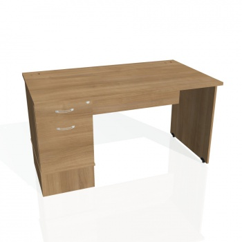 Psací stůl Hobis GATE GSK 1400 22, višeň/višeň