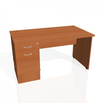 Psací stůl Hobis GATE GSK 1400 22, třešeň/třešeň