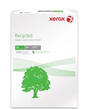 Recyklovaný papír Xerox Recycled+ A4 - 80 g/m2, CIE 85, 500 listů