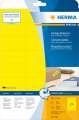 Univerzální etikety Herma - 70 x 37 mm, žluté, 480 ks