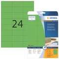 Univerzální etikety Herma - 70 x 37 mm, zelené, 480 ks