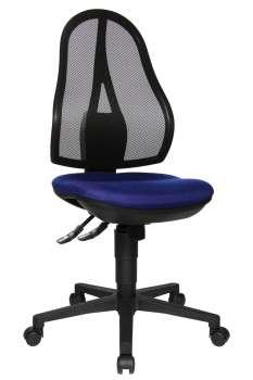 Kancelářská synchronní židle Open Point -modrá