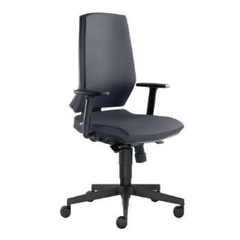 Kancelářská židle Stream synchro - černá