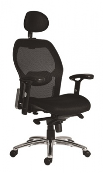 Kancelářská židle Solid - černá