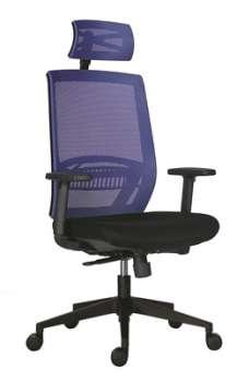 Kancelářská židle Above, SY - modrá