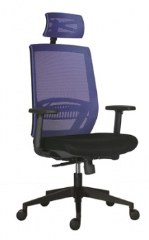 Kancelářská židle Office Depot Above, SY - modrá