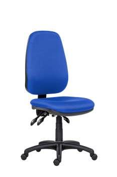 Kancelářská židle 1540 Asyn - bez područek, modrá
