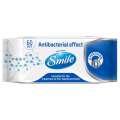 Antibakteriální vlhčené ubrousky Smile, 60 ks