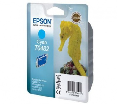 Cartridge Epson T048240 - azurová