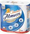 Papírové utěrky Almusso - 2vrstvé, bílé, 2 role