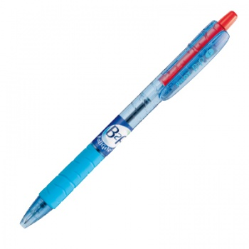 Kuličkové pero Pilot B2P Grip - červená náplň, 0,27 mm