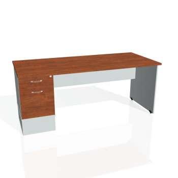 Psací stůl Hobis GATE GSK 1800 22, calvados/šedá