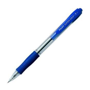 Kuličkové pero Pilot Super Grip - modrá náplň, 0,27 mm
