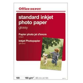 Fotopapír Office Depot, A4, 180 g/m2, lesklý