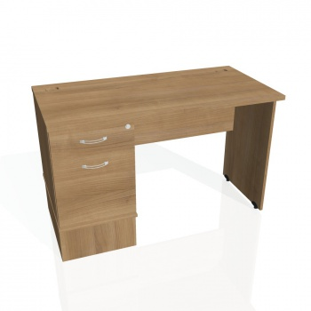 Psací stůl Hobis GATE GEK 1200 22, višeň/višeň