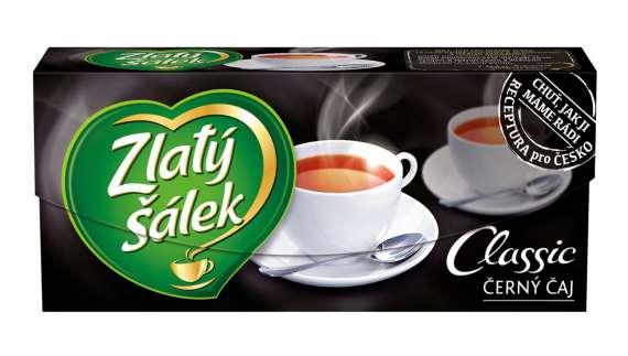 Černý čaj Zlatý šálek classic, 20x 1,75 g
