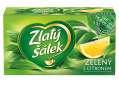 Zelený čaj Zlatý šálek s citrónem, 20x 1,5 g