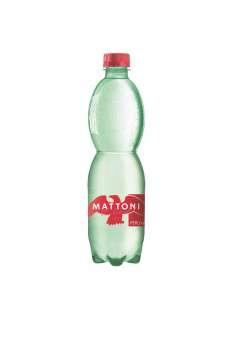 Minerální voda Mattoni - perlivá, 12x 0,5 l