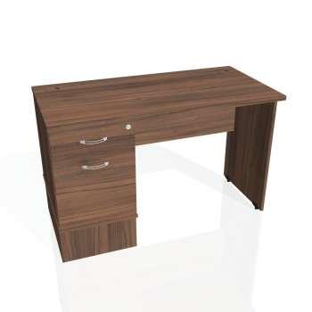 Psací stůl Hobis GATE GEK 1200 22, ořech/ořech