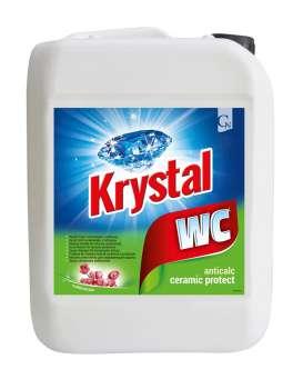 Prostředek na mytí WC a sanity - Krystal, 5 l