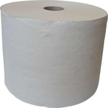Ručníky papírové v roli, dvouvrstvé, bílé, 2 role