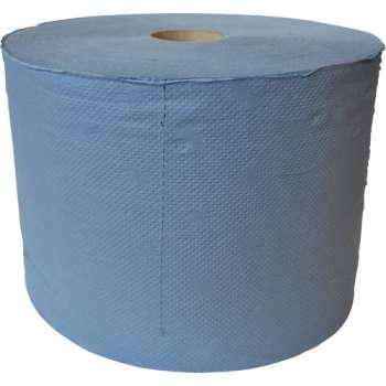 Ručníky papírové v roli, dvouvrstvé, barevný recykl, 2 role