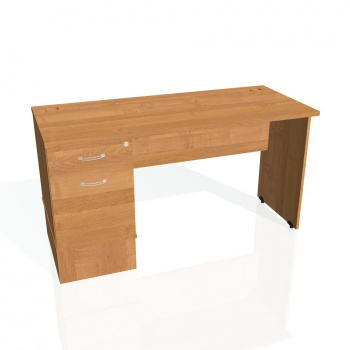 Psací stůl Hobis GATE GEK 1400 22, olše/olše