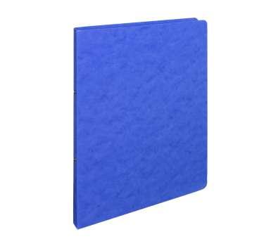 Prešpánový 2kroužkový pořadač - A4, šíře hřbetu 2 cm, modrý