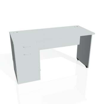 Psací stůl Hobis GATE GEK 1400 22, šedá/šedá