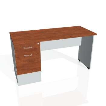 Psací stůl Hobis GATE GEK 1400 22, calvados/šedá