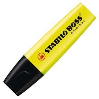 Zvýrazňovač Stabilo Boss original, žlutá