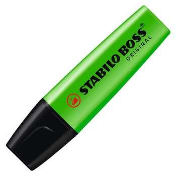 Zvýrazňovač Stabilo Boss original, zelený