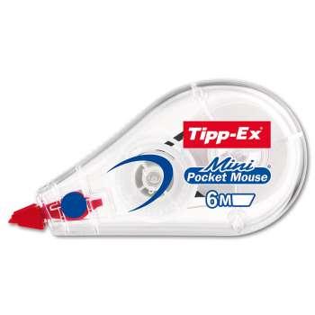 Korekční strojek Tipp-Ex Mini Pocket Mouse - jednorázový, délka 6 m