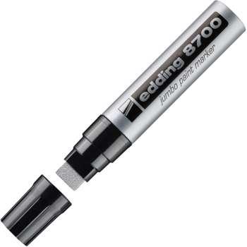 Popisovač lakový Edding 8700 Jumbo, stříbrná