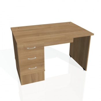 Psací stůl Hobis GATE GSK 1200 23, višeň/višeň
