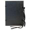 Spisové desky s tkanicí HIT Office - A4, černé, 25 ks
