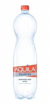 Stolní voda Aquila Aqualinea - perlivá, 6 x 1,5 l