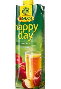 Džus HAPPY DAY - jablko 100 %, 1 l