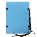 Spisové desky HIT Office - A4, stkanicí, modrá , 25 ks