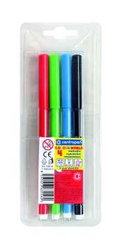 Liner Centropen 7550 - sada 4 barev