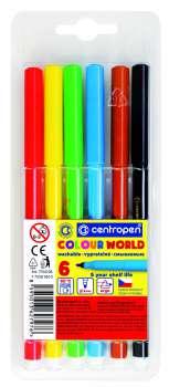 Liner Centropen 7550 - sada 6 barev