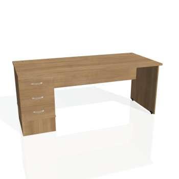 Psací stůl Hobis GATE GSK 1800 23, višeň/višeň