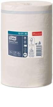 Papírové ručníky Tork - jednovrstvé, průměr 21,5 cm, bílé, 11 rolí